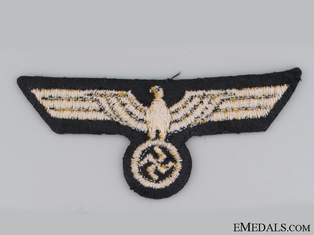 A Uniform Removed Kriegsmarine Breast Eagle