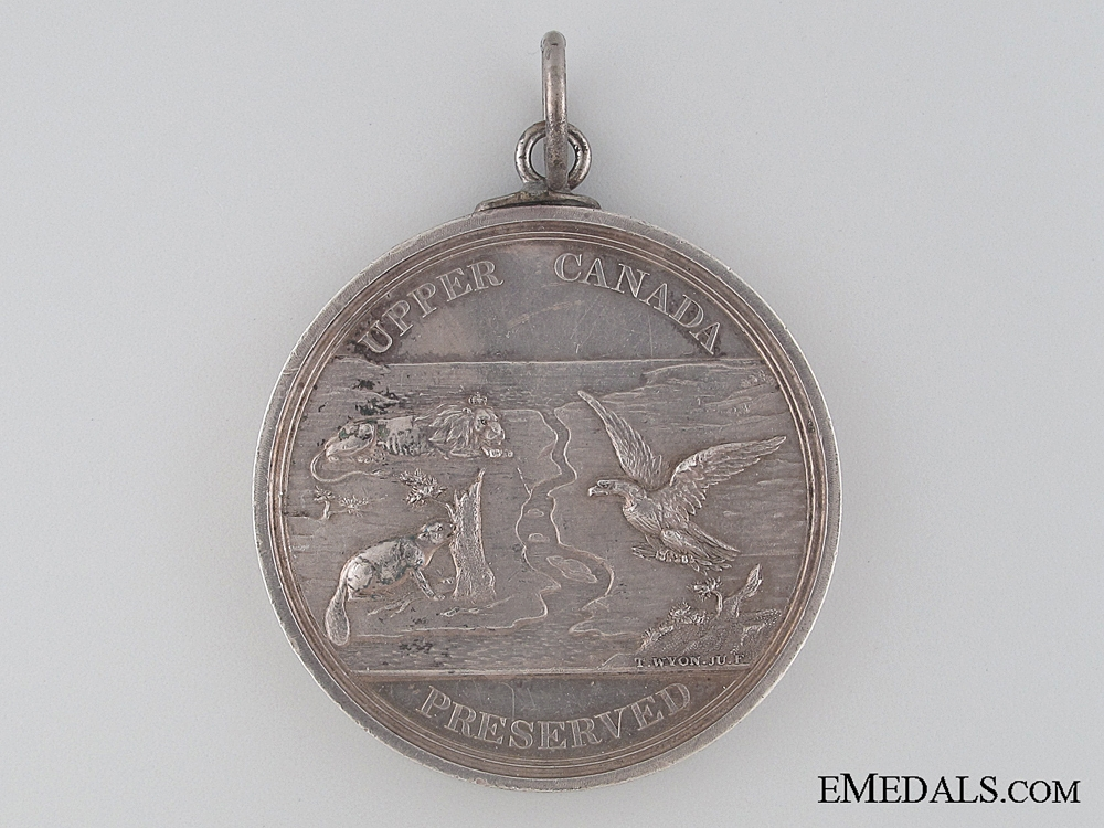 Upper Canada Preserved Medal