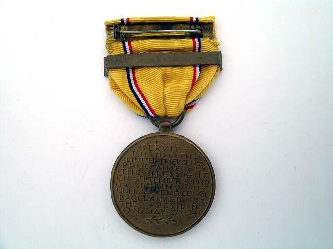 American Defense Service Medal 1942