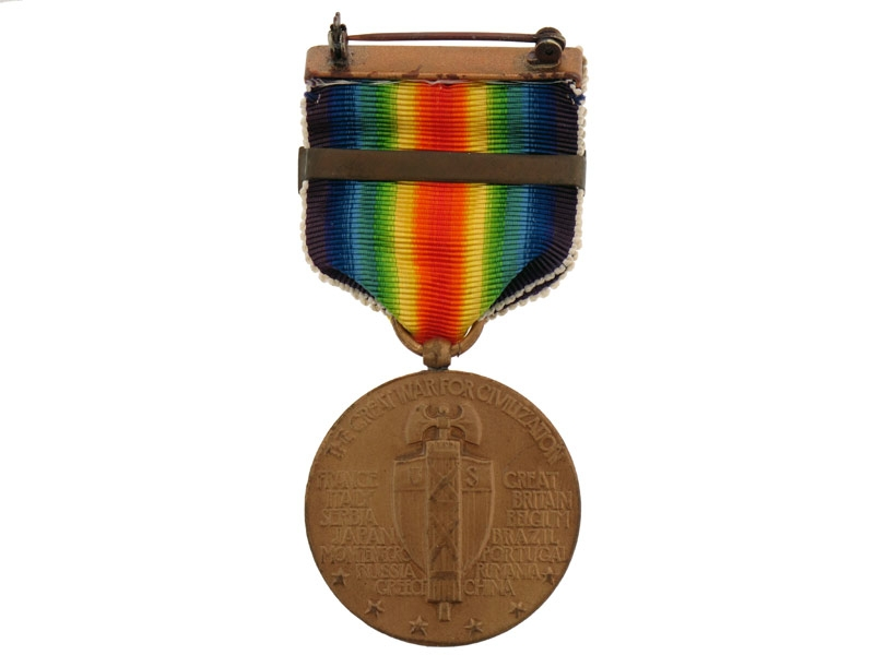 Victory Medal-Aviation Clasp