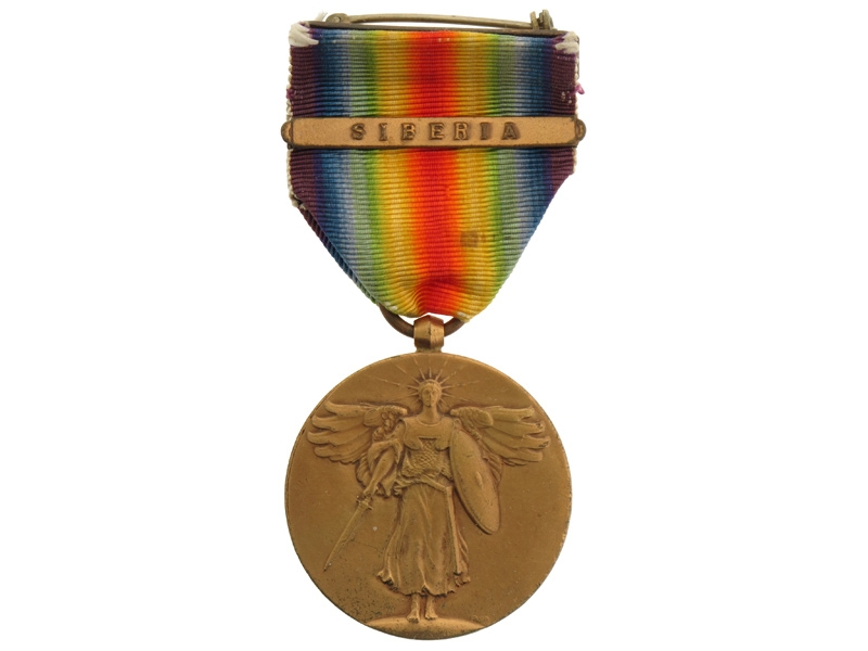 WWI Victory Medal, Siberia