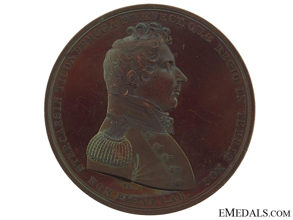 Bronze Naval Medal Lieutenant Stephen Cassin