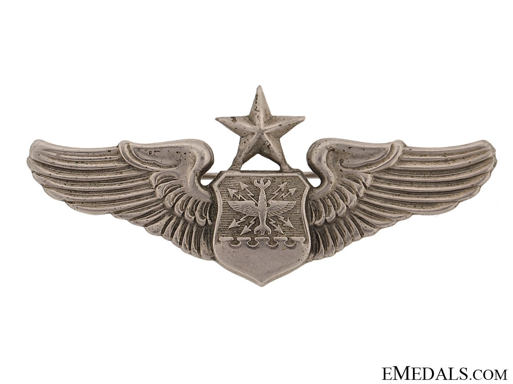 Early U.S. Air Force Senior Navigator/Aircraft Observer Wings