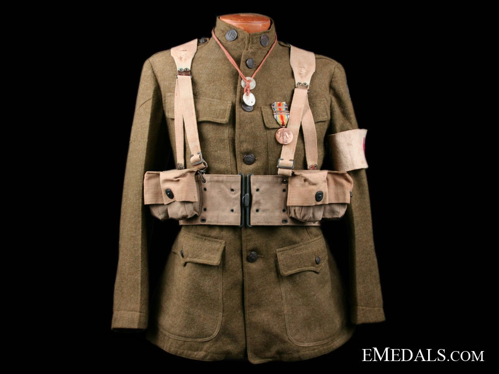 A First War AEF Medic Uniform