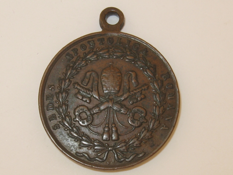 Defense of Rome Medal 1849