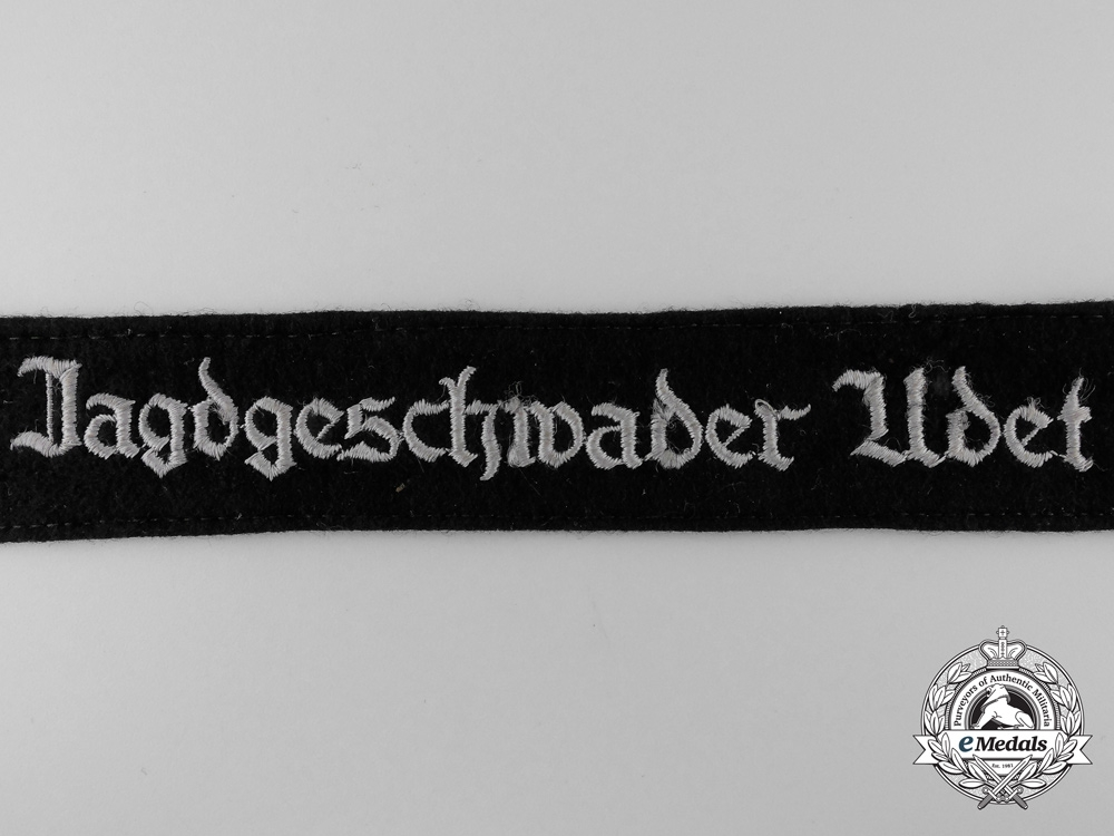 A Tunic Removed Jagdgeschwader Udet Cufftitle