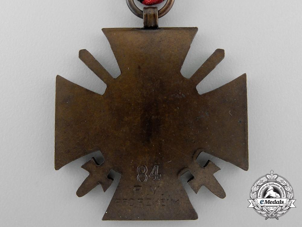 A First War Hindenburg Cross & Award Document 1943