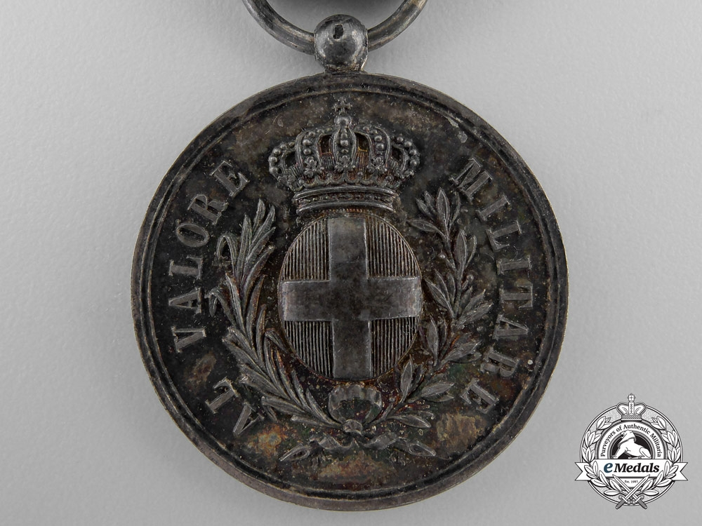 Italy, Kingdom. An Al Valore Militare Medal, Austrian War Issue 1859