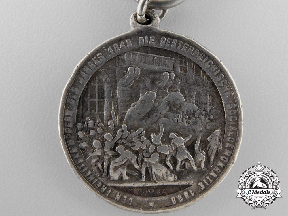 Austria, Empire. A Vienna Revolution Commemorative Medal, c.1848