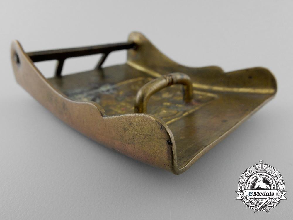 A Second War Czech Army Belt Buckle