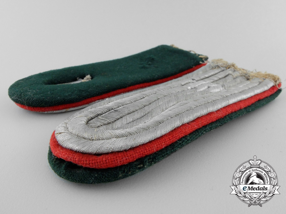 Germany, Heer. A Set of Army Administration Shoulder Boards