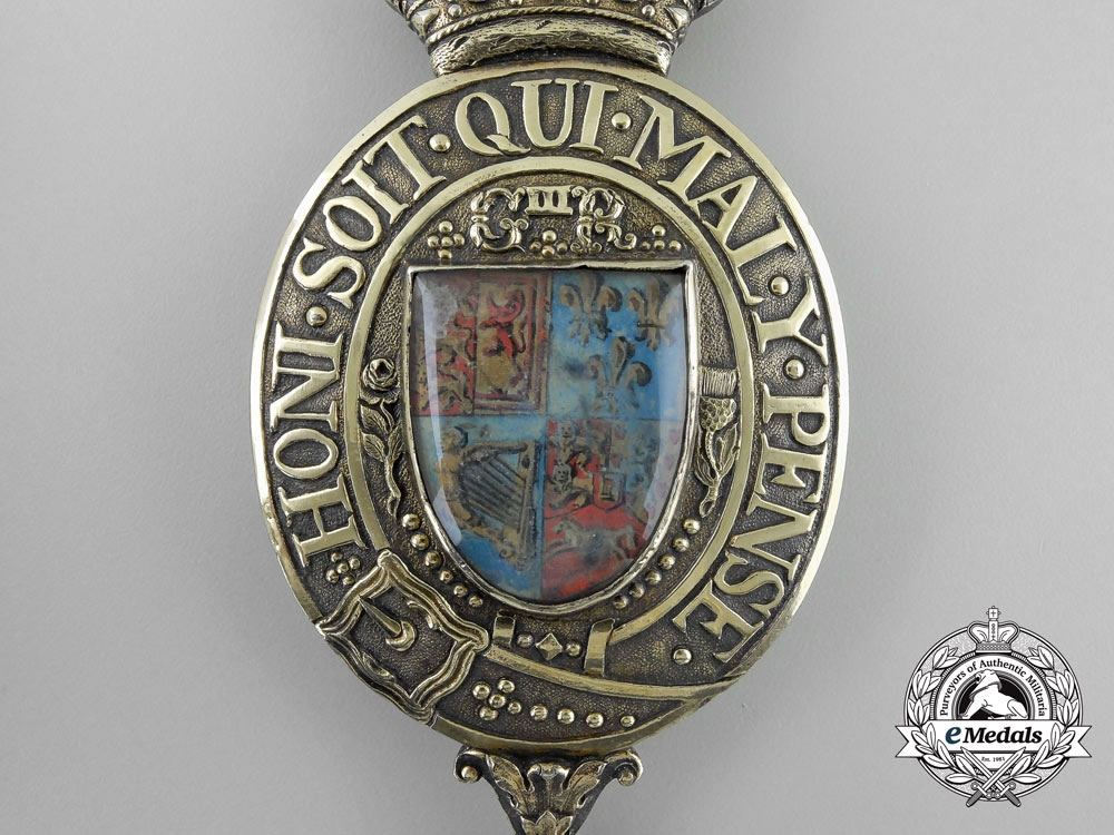 An Exceedingly Rare King George III Messenger's Badge