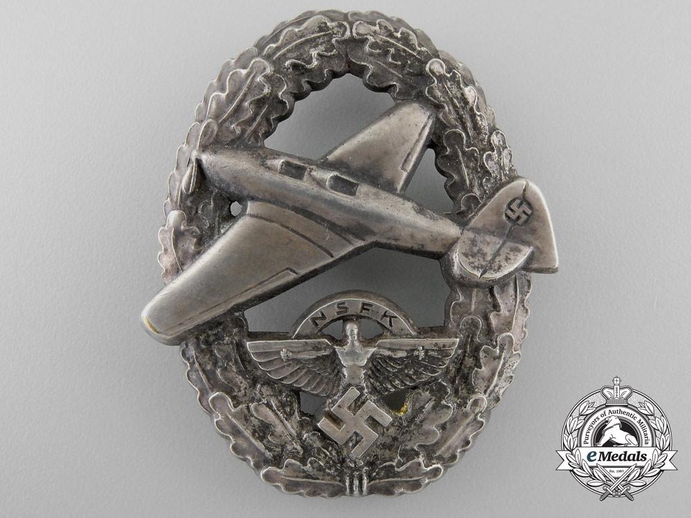 Germany, NSFK. A Pilot's Badge, Type II