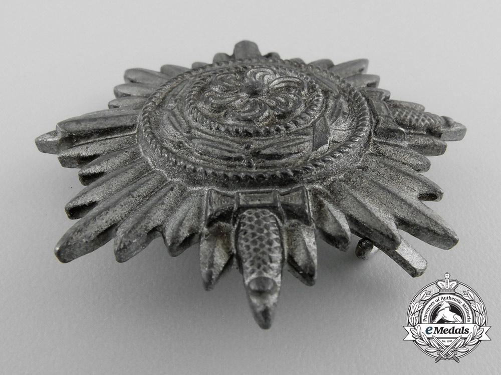 A First Class Ostvolk Decoration for Bravery; Silver Grade