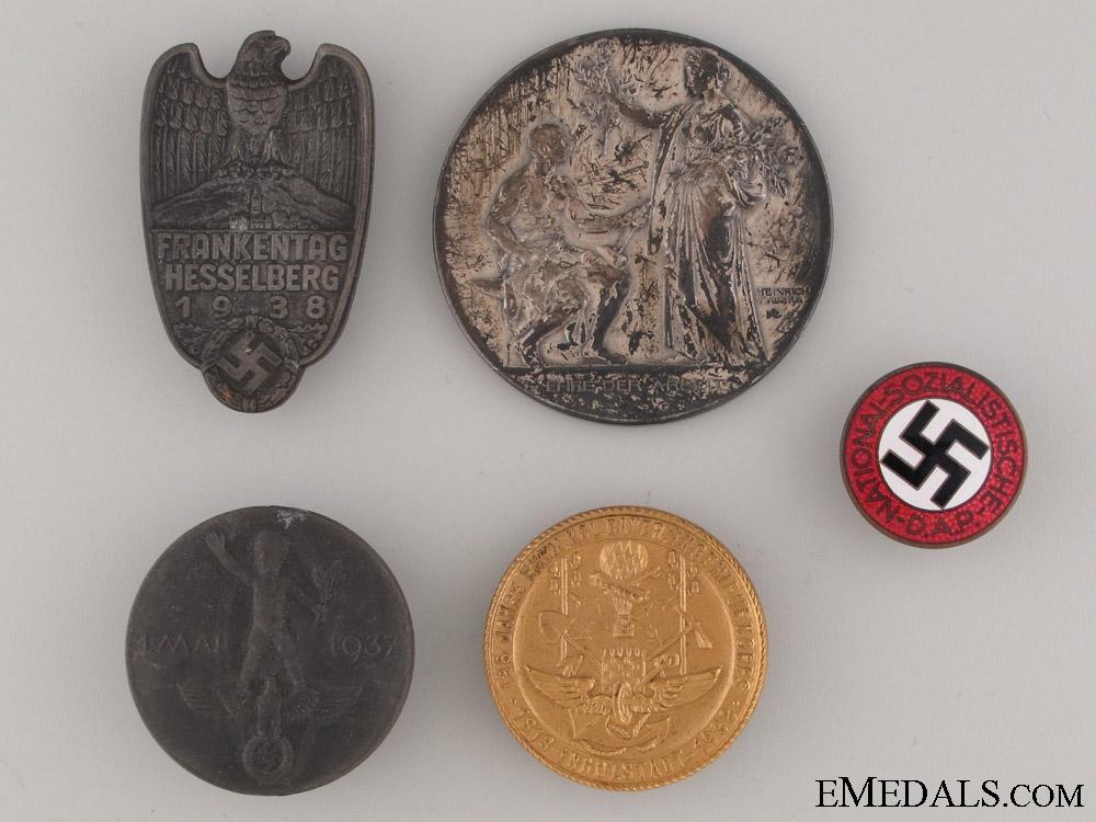 Various German Pins & Badges