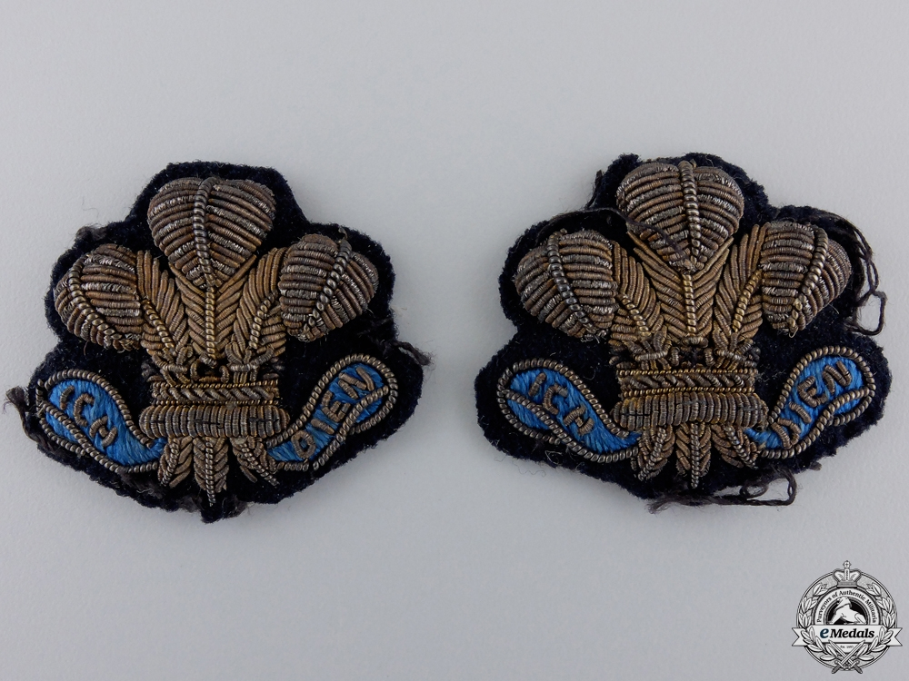Victorian NCO's 12th Lancers Arm Badges