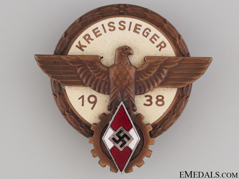 Victors' Badge in the National Trade Competition
