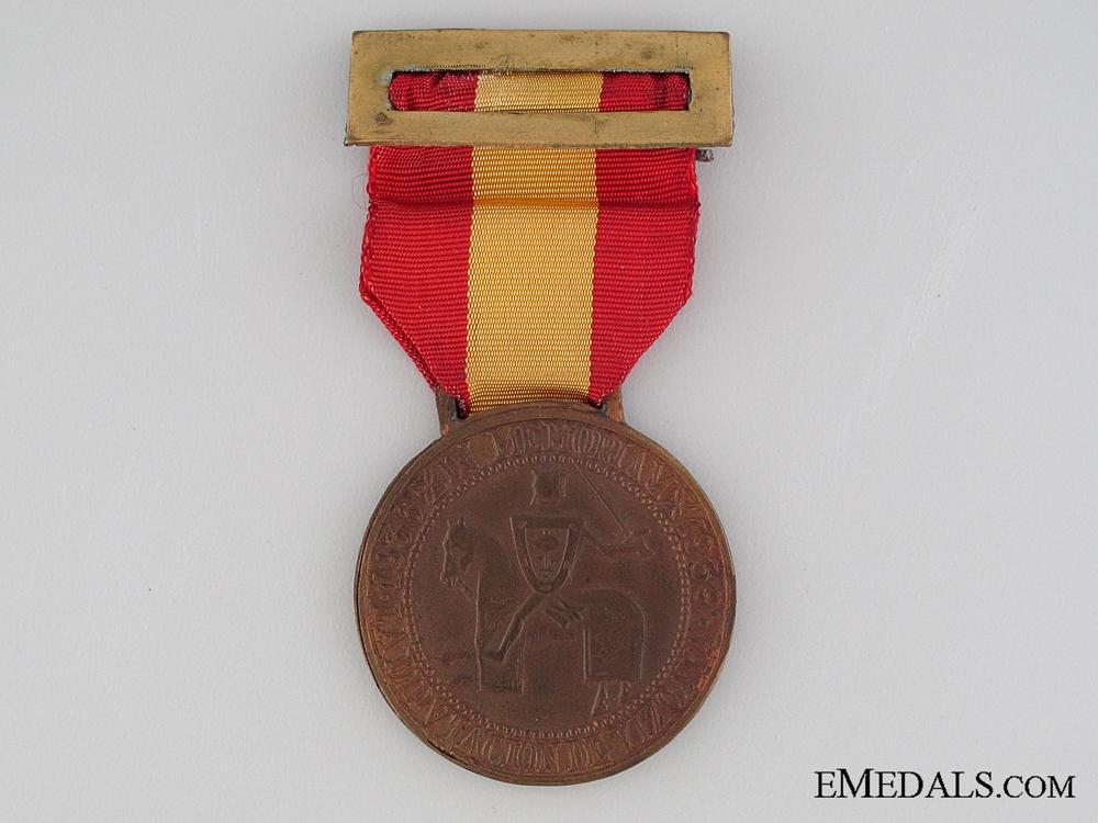 Vizcaya National Uprising Medal 1936-1939