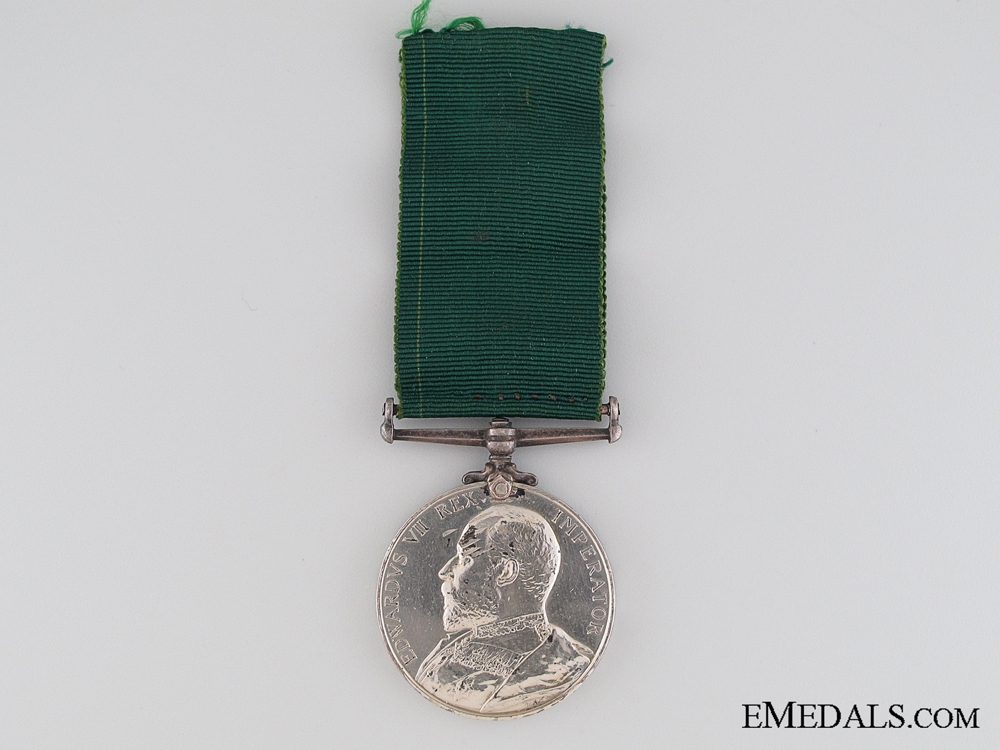 Volunteer Long Service and Good Conduct Medal, Corporal G.J. McCallum
