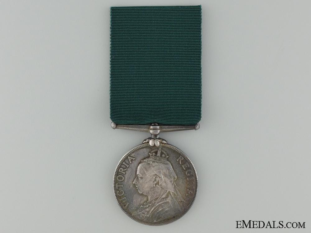 Volunteer Long Service Medal to 1st London Volunteer Artillery