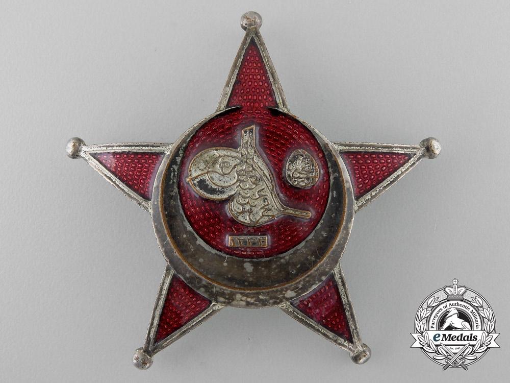 A First War Period Turkish Iron Crescent; Gallipoli Star