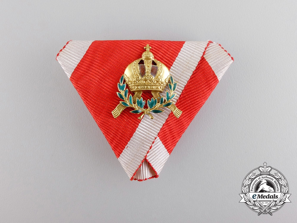 An Austrian Miniature Order of Leopold
