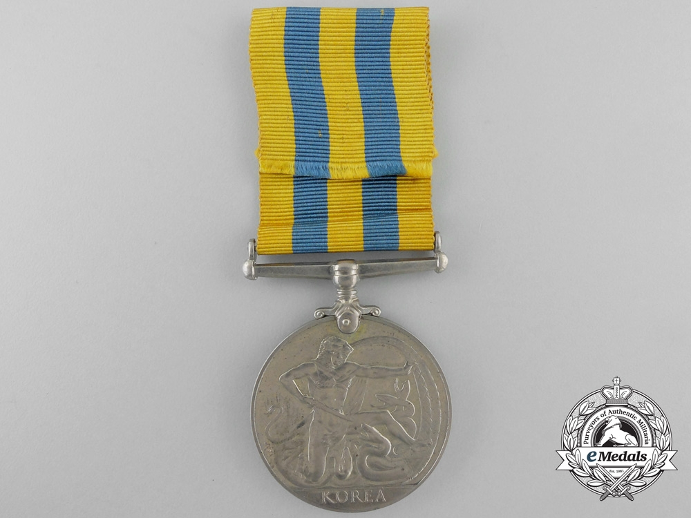 A Korea Medal to the Royal Electrical and Mechanical Engineers