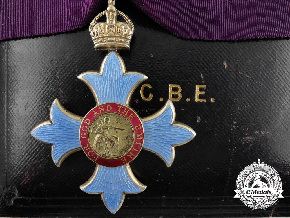 A Most Excellent Order of the British Empire; Commander (CBE)