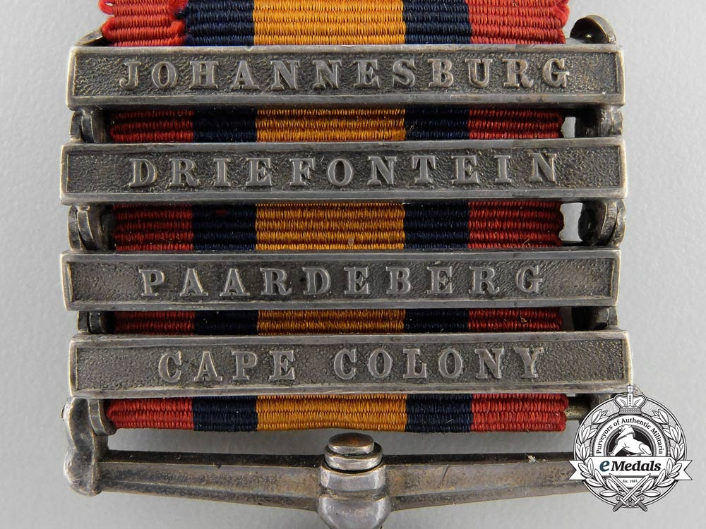 A Queen's South Africa Medal to the Royal Canadian Regiment of Infantry