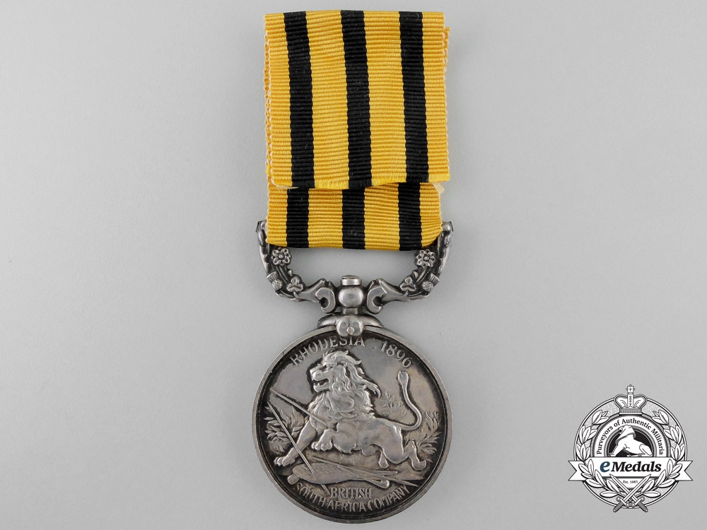 A South Africa Company's Medal to the British South Africa Police