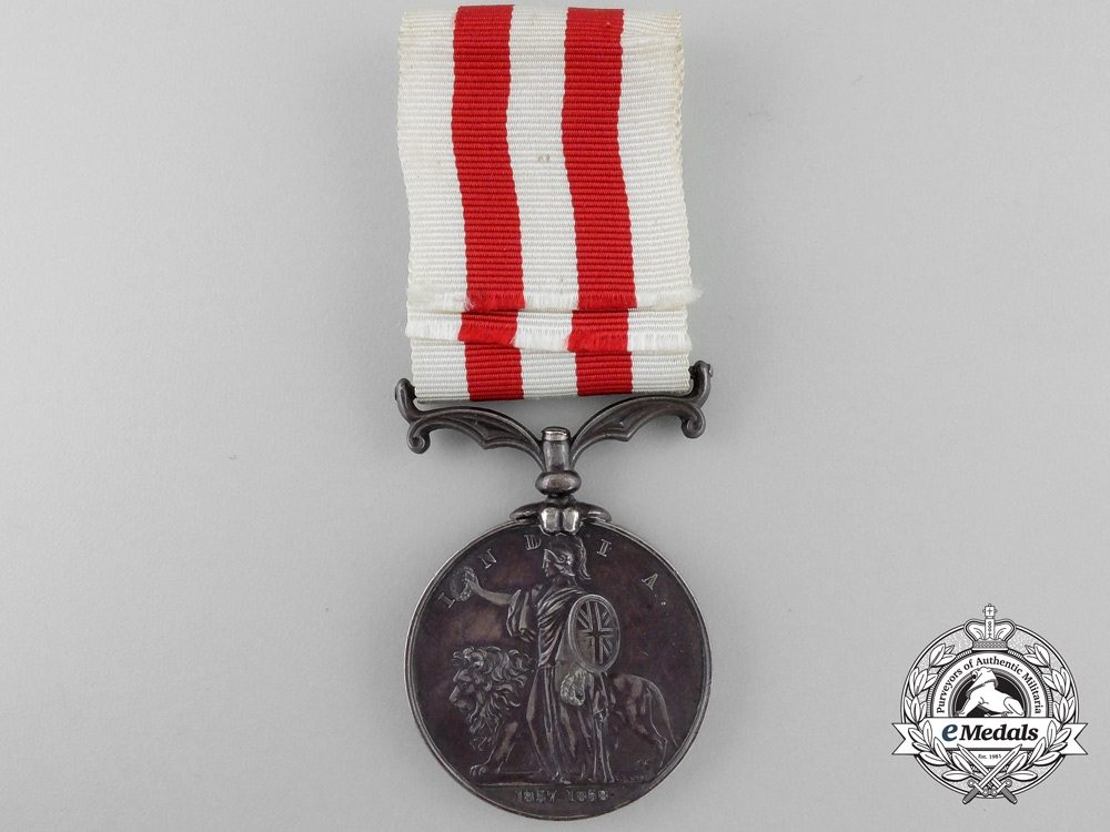 An India Mutiny Medal 1857-1858 to Drummer T. Ford; 81st Regiment of Foot