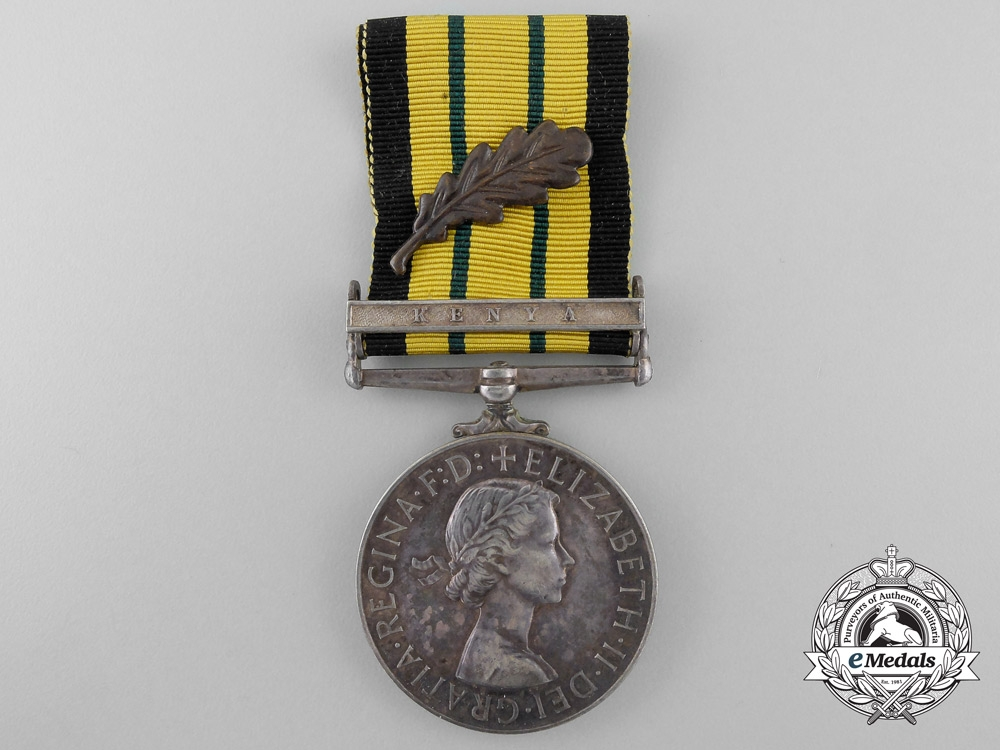 An Africa General Service Medal 1902-1956 with MID to Sen Tec Inst I.L. Wareham