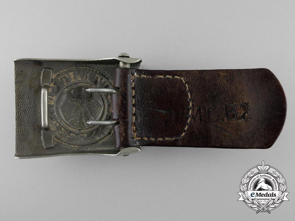 A Weimar Republic Army (Reichsheer) EM/NCO's Belt Buckle by Overhoff & Cie, Lüdenscheid 1
