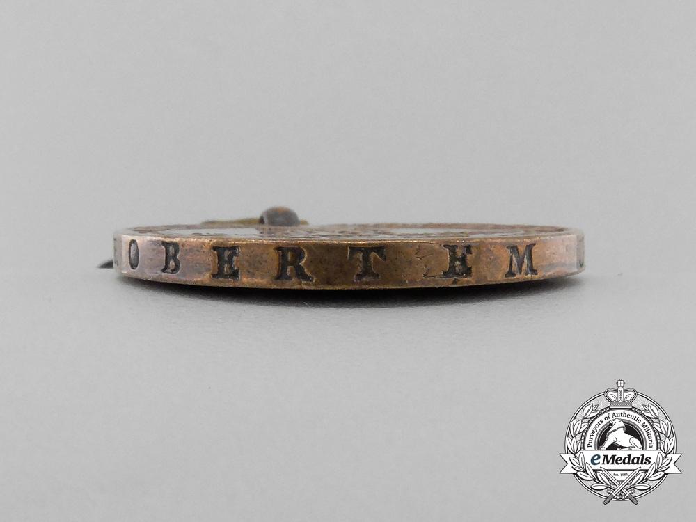 A Napoleonic Prussian War Merit Medal 1813-1814