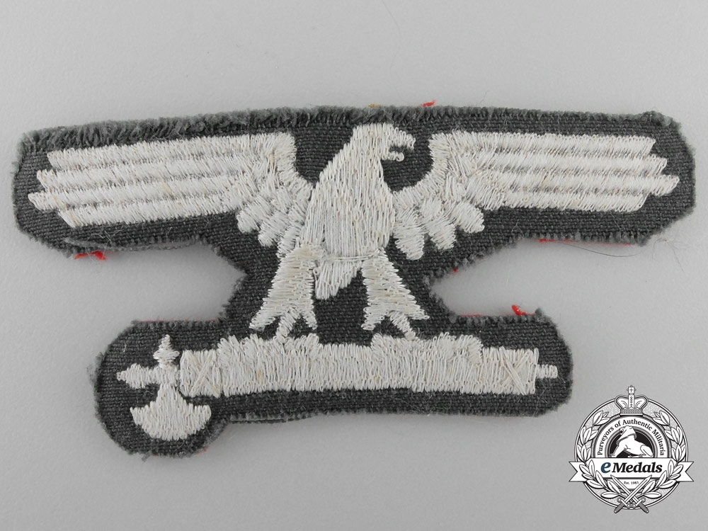 Germany. An Italian SS EM/NCO's Sleeve Eagle