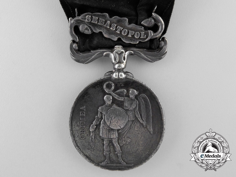 A Crimea Medal to the 71st (Highland) Regiment of Foot