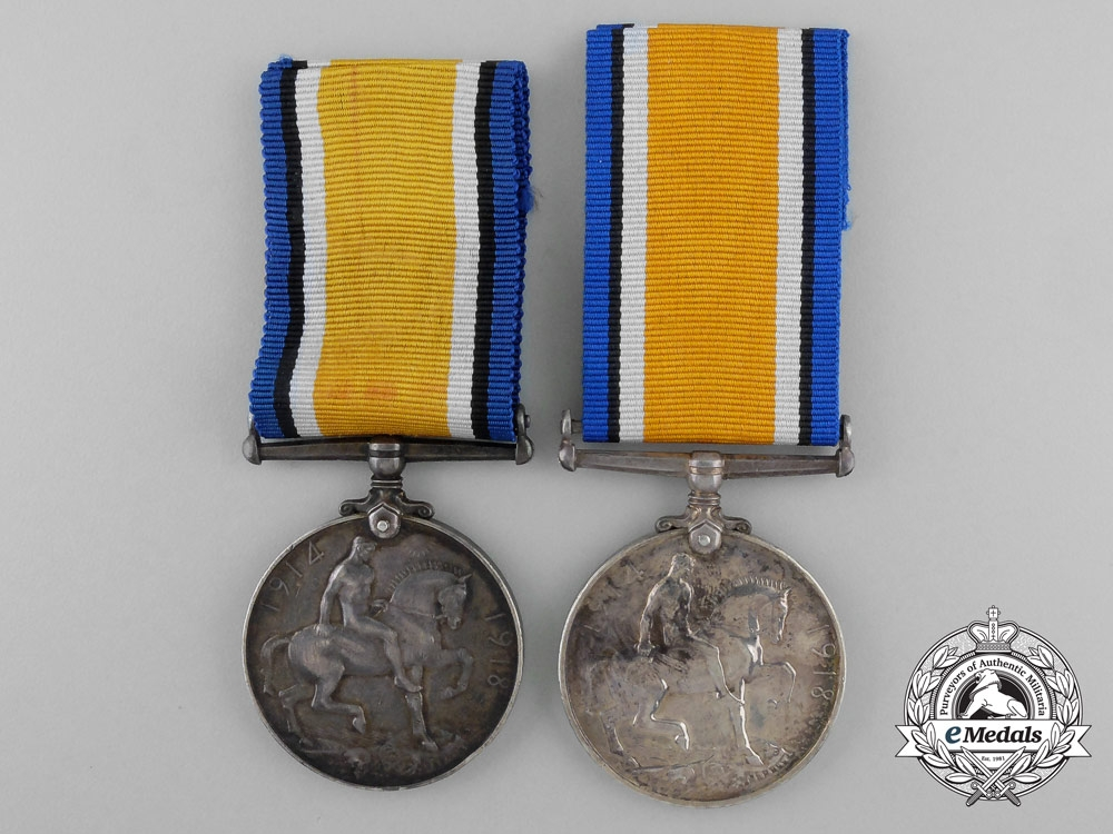 Two British Issued First War Medals