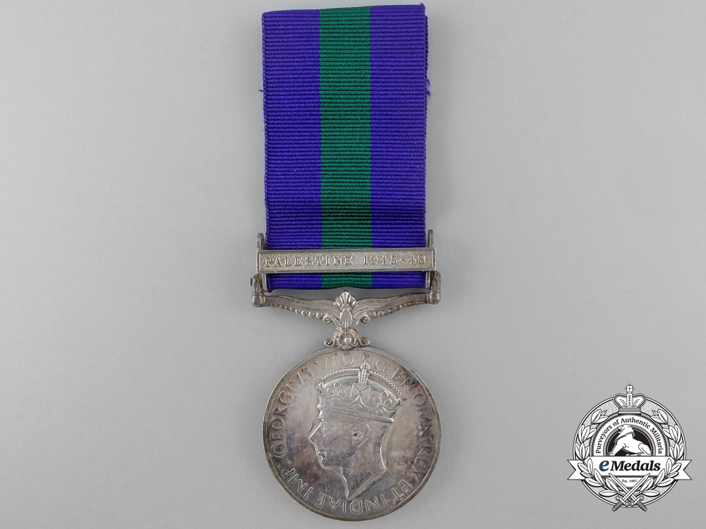 A General Service Medal 1918-1962 to the African Pioneer Corps