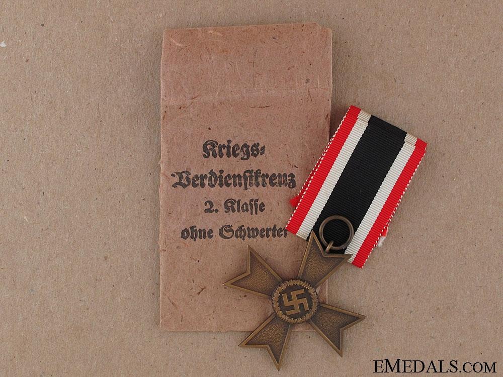 War Merit Cross 2nd Class