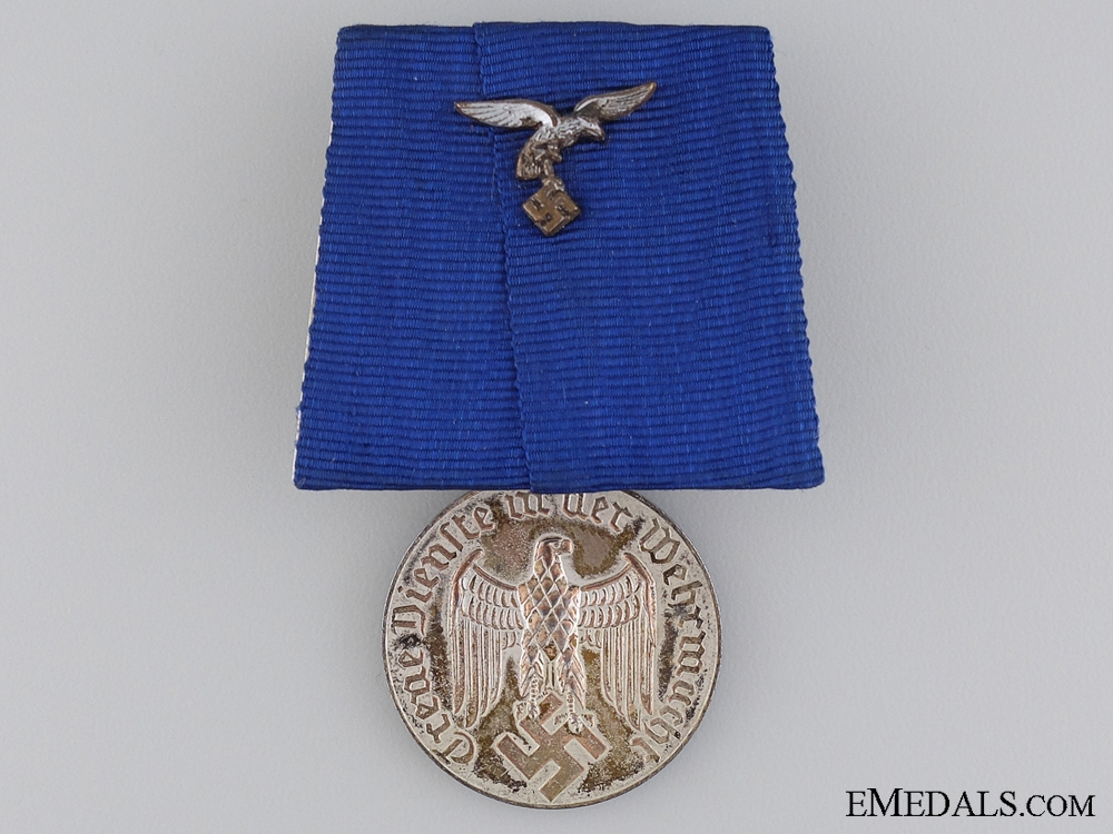 Wehrmacht Long Service Medal; Luftwaffe Eagle