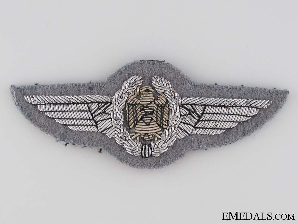 West German Air Force Pilot's Wings Badge