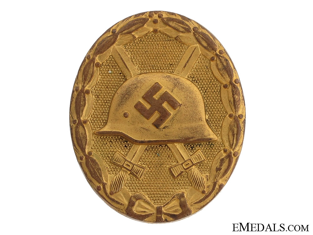 Wound Badge - Marked Gold Grade