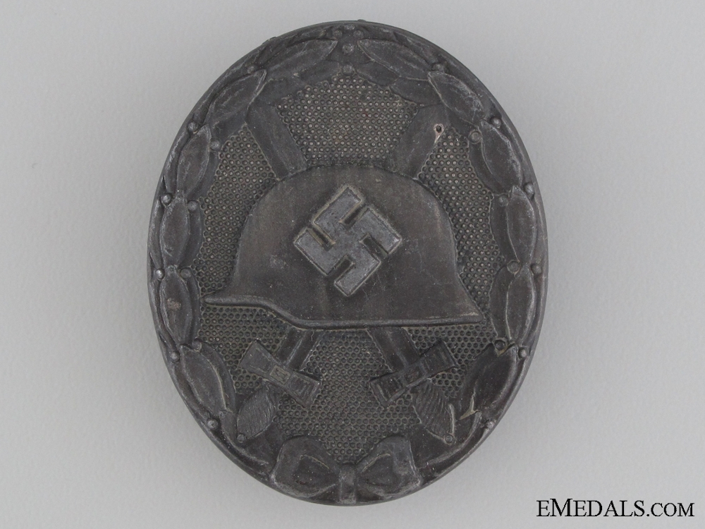 Wound Badge; Silver Grade by Steinhauer & Lück