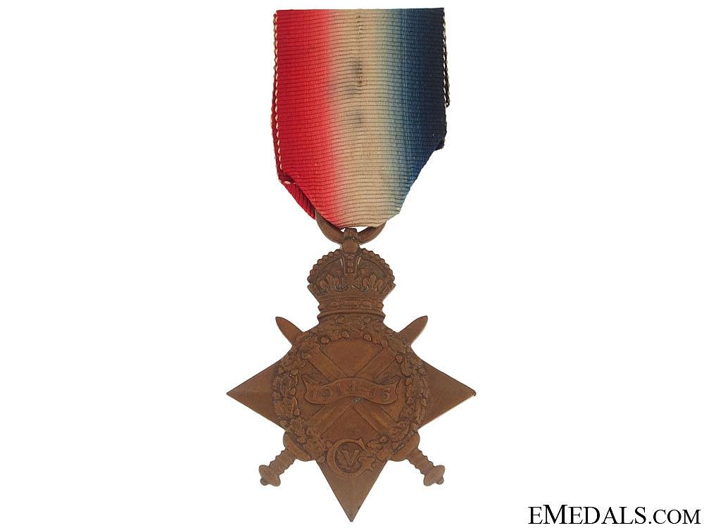 WWI 1914-1915 Star - West Yorkshire Regiment