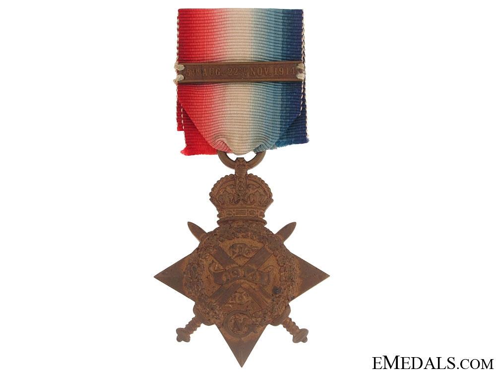 WWI 1914 Star - Lieutenant Royal Scots Fusiliers, KIA