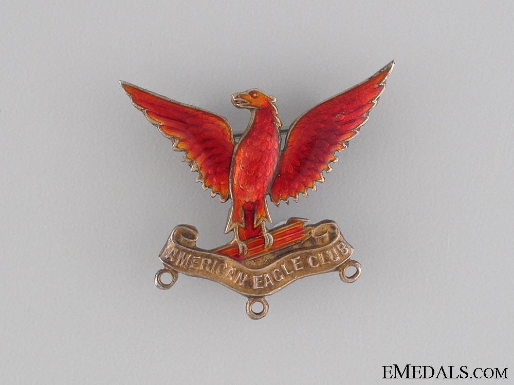 WWI 1942 American Eagle London Club Pin