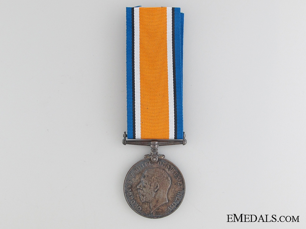WWI British War Medal to the Canadian Railway Troops