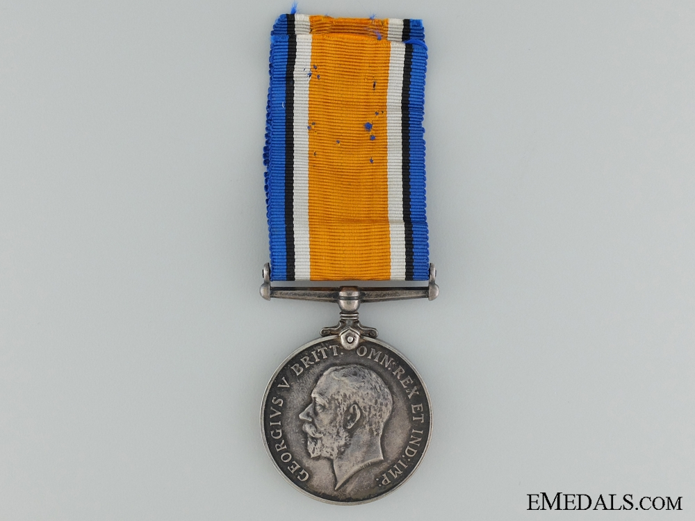 WWI British War Medal to Captain Robert Hague; Canadian Engineers