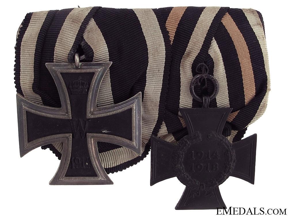 WWI German Medal Pair