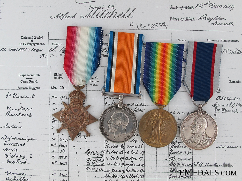 A First War Group to an HMS Victoria Disaster Survivor